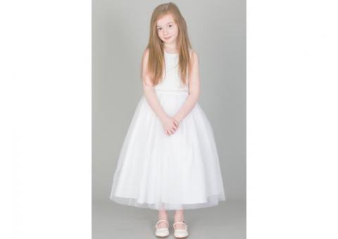Amazing Long White Dresses for Girls